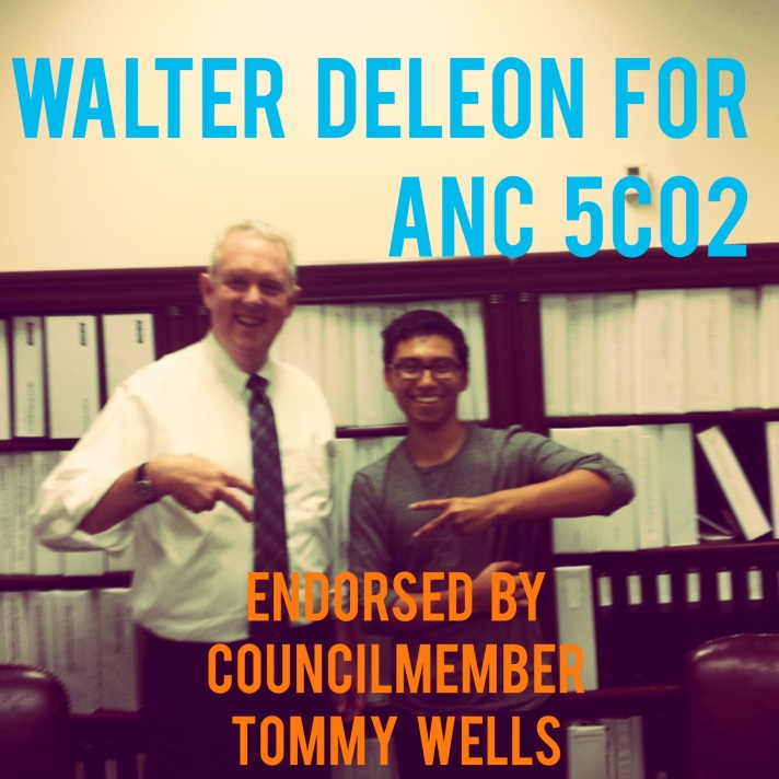 Tommy Wells & Walter Deleon