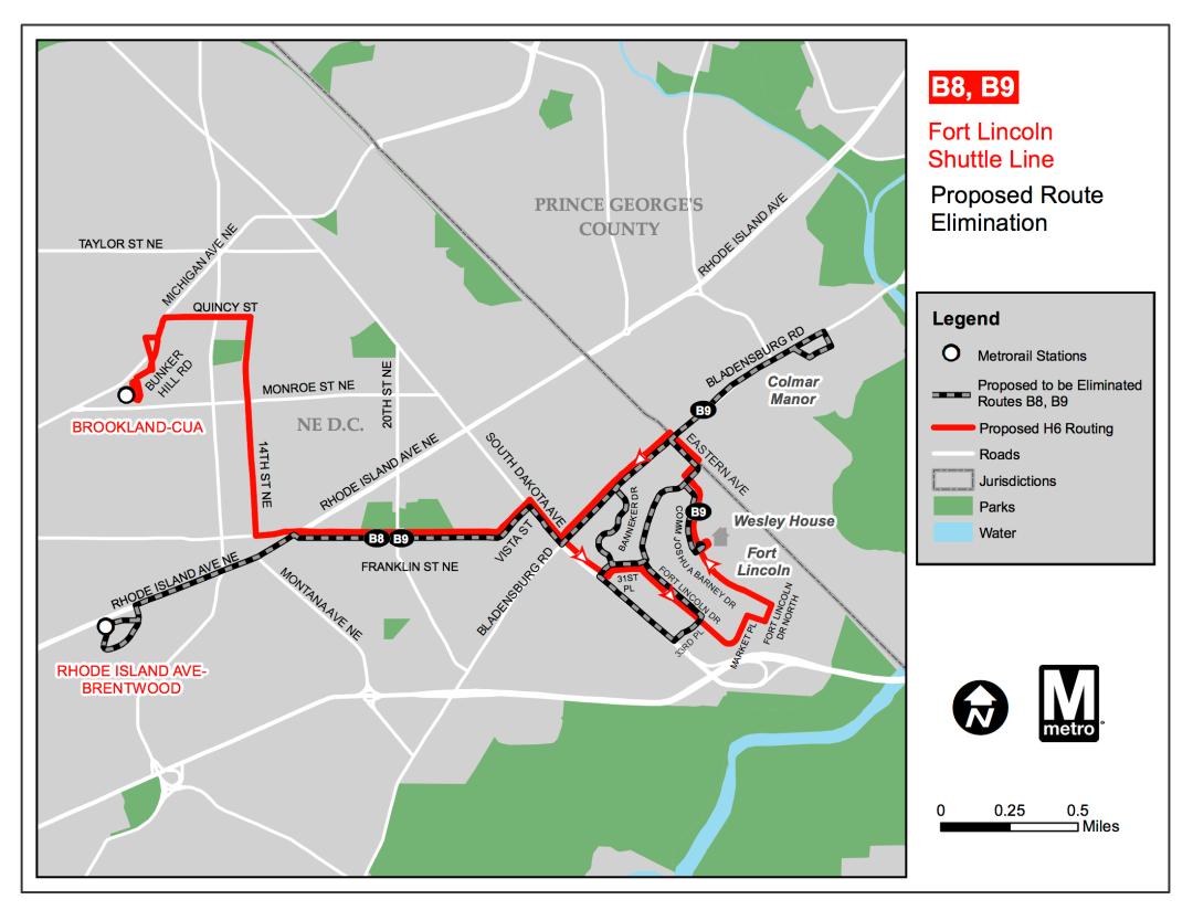 B8 B9 bus route